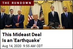 This Mideast Deal Is an 'Earthquake'