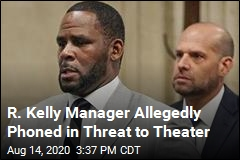 Ex-Manager Charged With Threat Over R. Kelly Doc