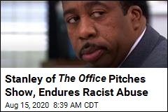 Stanley of The Office Pitches Show, Endures Racist Abuse