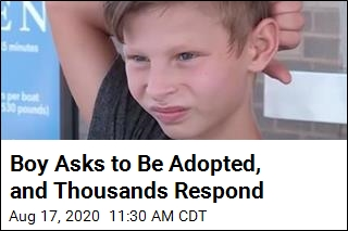 Boy Asks to Be Adopted, and Thousands Respond