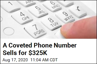 Somebody Paid $325K for a Phone Number