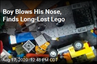 Boy Had Lego Stuck Up Nose for 2 Years