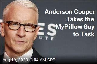 Anderson Cooper Takes the MyPillow Guy to Task