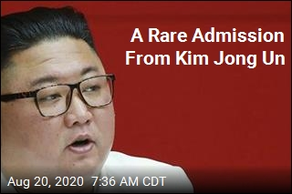 A Rare Admission From Kim Jong Un