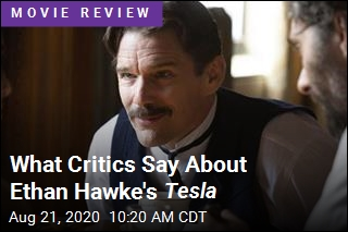 What Critics Say About Ethan Hawke's Tesla