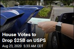 House Votes to Drop $25B on USPS