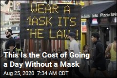 This Is the Cost of Going a Day Without a Mask