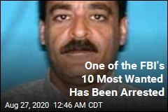 One of the FBI's 10 Most Wanted Has Been Arrested