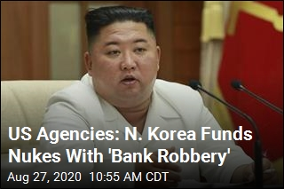 US Agencies: N. Korea Funds Nukes With 'Bank Robbery'