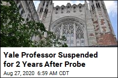 Yale Professor Suspended for 2 Years After Probe