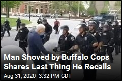 Man Shoved by Buffalo Cops Can't Recall Being Pushed
