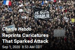 Charlie Hebdo Reprints Caricatures That Sparked Attack
