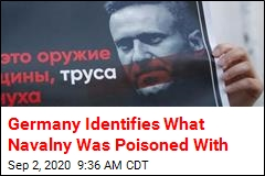 Germany Identifies What Navalny Was Poisoned With