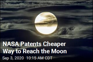 NASA Patents Cheaper Way to Reach the Moon