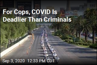 For Cops, COVID Is Deadlier Than Criminals