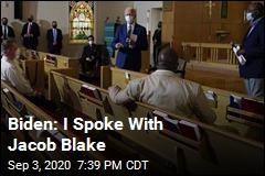 Biden Meets With Blakes, Tells Kenosha Change Can Come