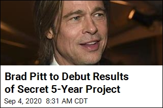 Brad Pitt's Newest Venture Was Done in 'Utmost Secrecy'