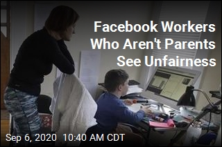 Facebook Workers Who Aren't Parents See Unfairness