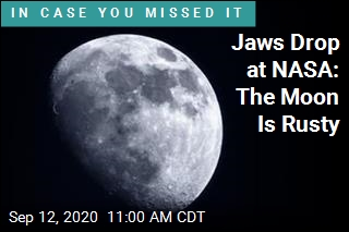 Jaws Drop at NASA: The Moon Is Rusty