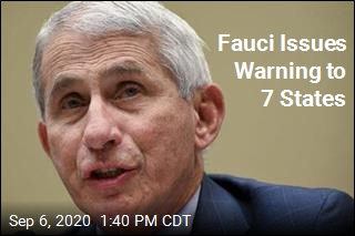 Fauci Issues Warning to 7 States