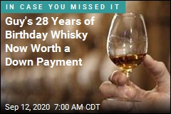 Guy's 28 Years of Birthday Whisky Now Worth $52K