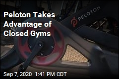 Peloton Takes Advantage of Closed Gyms