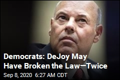 Democrats: DeJoy May Have Broken the Law—Twice
