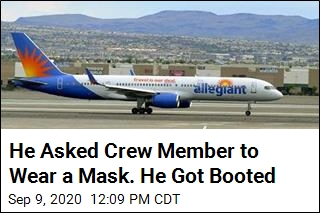 He Asked Crew Member to Wear a Mask. He Got Booted