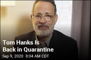 Tom Hanks Back in Quarantine in Australia