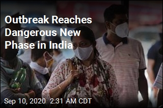 India Reports Record Spike in COVID Cases