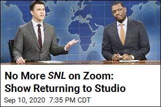 No More SNL on Zoom: Show Returning to Studio