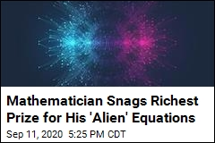 Mathematician Snags Richest Prize for His 'Alien' Equations
