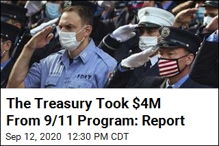 Feds Secretly Took $4M From 9/11 Health Program