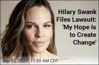 Hilary Swank Sues Over 'Barbaric' Health Plan