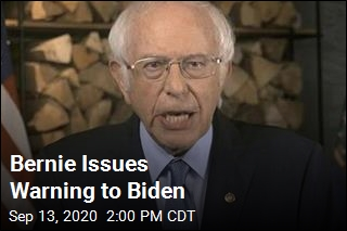 Bernie Issues Warning to Biden