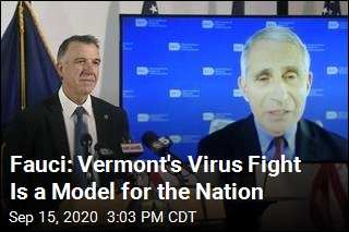 Fauci: Vermont's Virus Fight Is a Model for the Nation