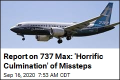 House Committee Report Blasts Boeing Over 737 Max