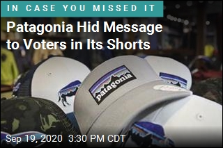 Patagonia Hid Message to Voters in Its Shorts