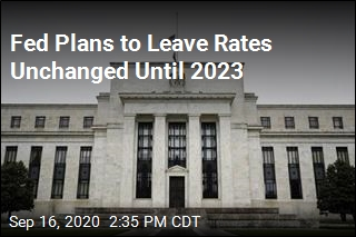 Fed Plans to Leave Rates Unchanged Until 2023