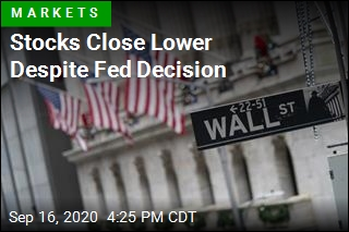 Stocks Close Lower Despite Fed Decision