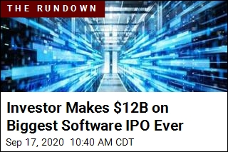 Investor Makes $12B on Biggest Software IPO Ever