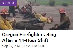 These Firefighters Are Spent, but They Muster a Song
