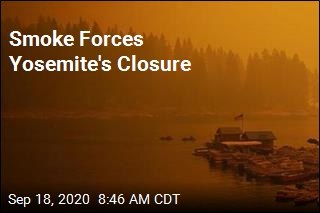 Smoke Forces Yosemite's Closure