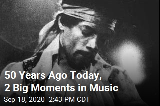 50 Years Ago Today, 2 Big Moments in Music