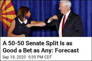 A 50-50 Senate Split Is as Good a Bet as Any: Forecast