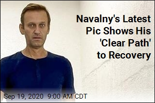 Navalny Is Up and About, and Back on Instagram