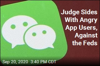 Judge Sides With American WeChat Users