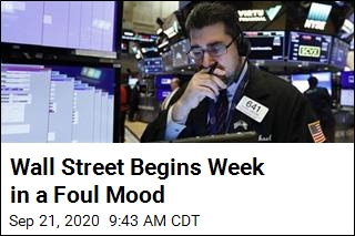 Wall Street Begins Week in a Foul Mood