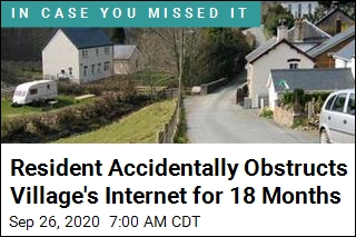 Resident Accidentally Obstructs Village's Internet for 18 Months