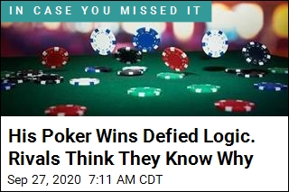 His Poker Wins Defied Logic. Rivals Think They Know Why